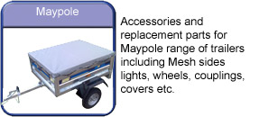 Maypole trailer accessories
