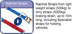 Towing and Trailers Worksop Ratchet straps
