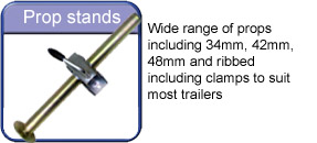 Trailer propstands
