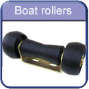 Trailer boat rollers and parts