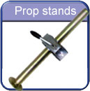 Trailer parts prop stands