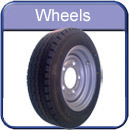 Trailer spare parts wheels and tyres