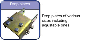 Towing and Trailers ltd Worksop Notts near Sheffield Drop plates for towbars adjustable