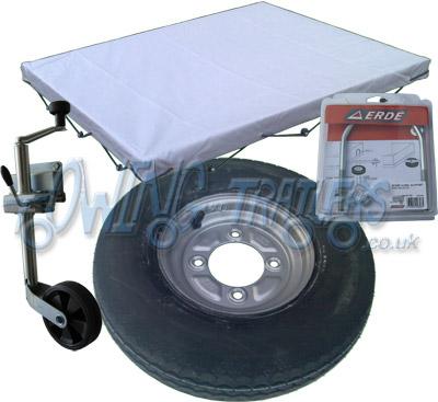 Accessory Kit 04G for Erde 142 trailer