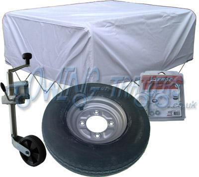 Accessory Kit 05G for Erde 142 trailer