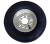 400 x 8 6ply trailer tyre with 4 stud 4